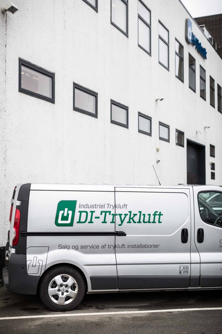 DI-Tryklufts historie